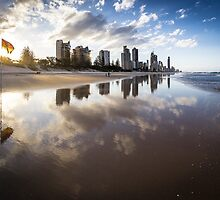 Broadbeach, Gold Coast, Australia by Daniel Rankmore