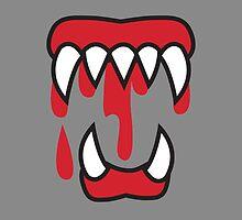 Monster teeth costume  by jazzydevil