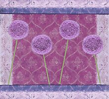 Vintage Alliums by Rayvh