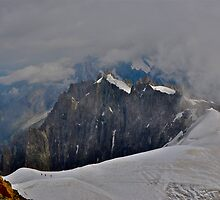 Mont Blanc - Highest Mountain in Europe by Chrisele