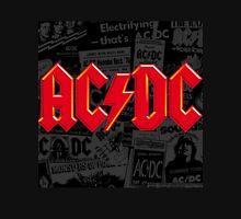 AC/DC FONT LOGO RED Unisex T-Shirt