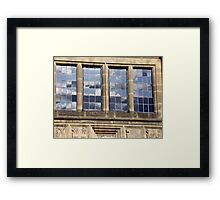 the sky squared Framed Print