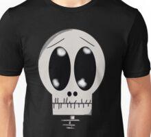 Worried Skeleton Unisex T-Shirt
