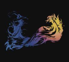 Final Fantasy X - Coloured Logo by EMS UK