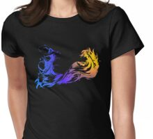 Final Fantasy X - Coloured Logo Womens Fitted T-Shirt