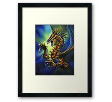 Dragon Fury Framed Print
