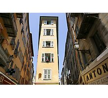 Vieux Nice, Old Town, Nice, France Photographic Print