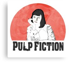 Mia Pulp Fiction Canvas Print