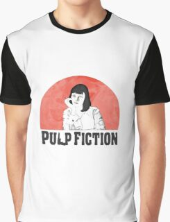 Mia Pulp Fiction Graphic T-Shirt