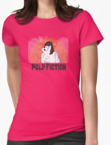 Mia Pulp Fiction Womens Fitted T-Shirt