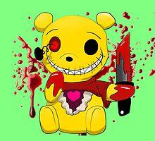 Winnie the killer pillow 2 by kieyRevange