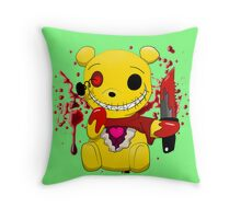 Winnie the killer pillow 2 Throw Pillow