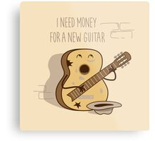NEW GUITAR Metal Print
