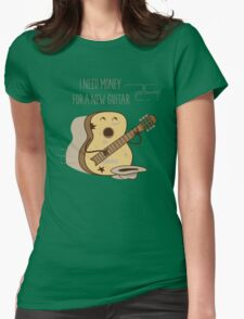 NEW GUITAR Womens Fitted T-Shirt