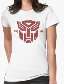 Legendary Autobots Womens Fitted T-Shirt