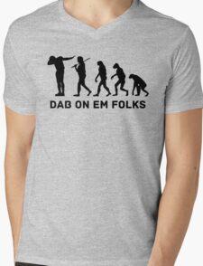 Dab evolution Mens V-Neck T-Shirt