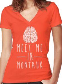 Eternal Sunshine Mind Women's Fitted V-Neck T-Shirt