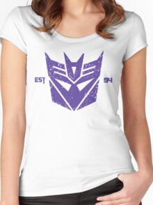 Legendary Decepticons Women's Fitted Scoop T-Shirt