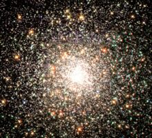 Globular star cluster NGC 6093. Sticker