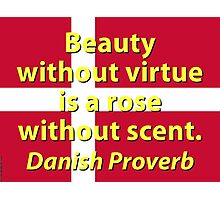 Beauty Without Virtue Photographic Print