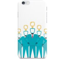 business team with new idea iPhone Case/Skin