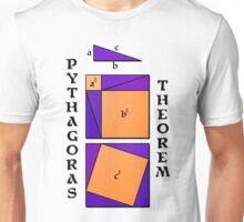 Pythagoras Theorem geometrical proof Unisex T-Shirt