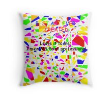 Elementary/Primary school paint professional Throw Pillow