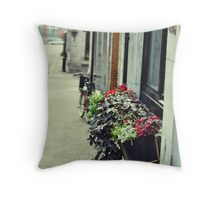 Old City Montreal 1 Throw Pillow
