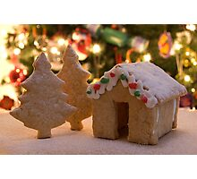 Gingerbread House Photographic Print