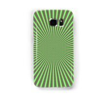 3D Room - Green On Purple Samsung Galaxy Case/Skin
