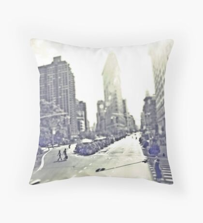 Crosswalk Manhattan Throw Pillow