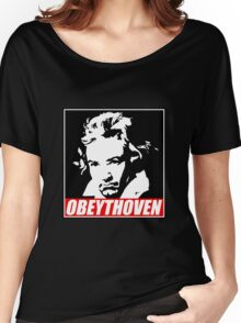 Obeythoven Women's Relaxed Fit T-Shirt