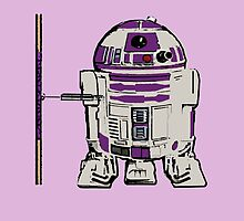 R2D2 DONATELLO by greatbritton99