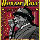 HOWLIN'WOLF AMERICAN BLUES SINGER by Larry Butterworth