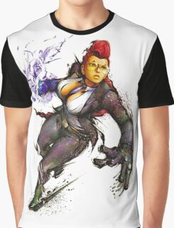 "Crimson Viper ""Street Fighter"" Graphic T-Shirt"