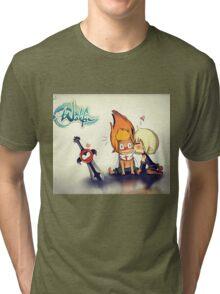 Evangeline and Tristepan <3 Tri-blend T-Shirt