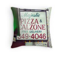 Pizza Bar, Lower Manhattan Throw Pillow