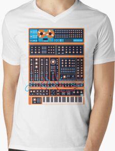 Synth Mens V-Neck T-Shirt