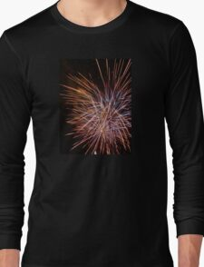 Fireworks Celebration Long Sleeve T-Shirt