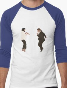 Pulp Fiction dance Men's Baseball ¾ T-Shirt