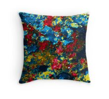 Mossy Ice Throw Pillow