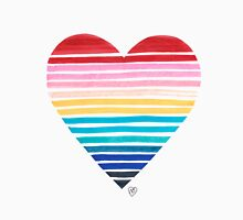 Big Heart Rainbow Unisex T-Shirt