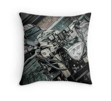 Gsxr custom motorcycle Throw pillow and Tote Bag Throw Pillow