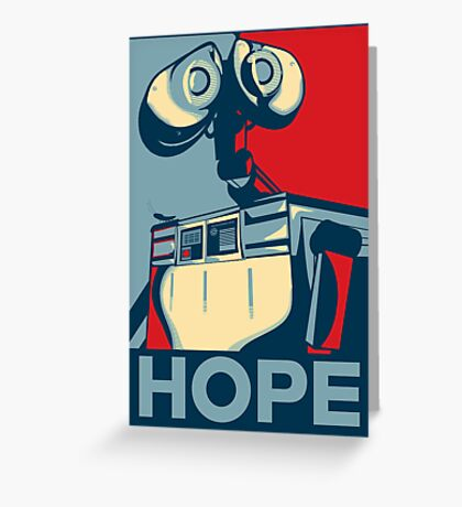 Trust in Wall-e  Greeting Card