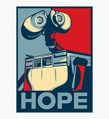 Trust in Wall-e  Photographic Print