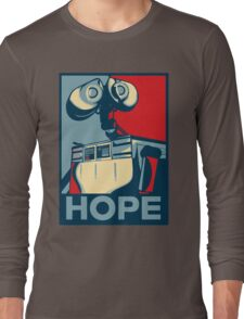 Trust in Wall-e  Long Sleeve T-Shirt