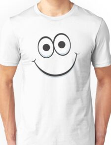 Happy cartoon face Unisex T-Shirt