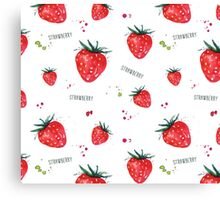 Strawberry Canvas Print