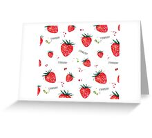 Strawberry Greeting Card