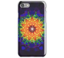Trippy Psychedelic Rainbow Pattern iPhone Case/Skin
